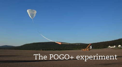 An image of the balloon filling up for the launch of Pogo+, a polarized gamma-ray detector.