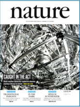 XENON Experiment featured on Nature Magazine cover