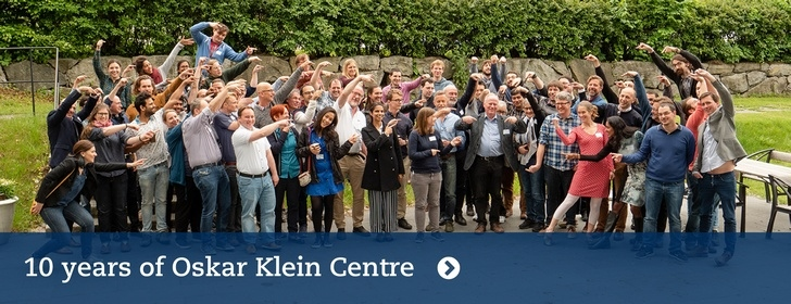10 years of the Oskar Klein Centre