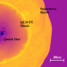 The simulation of the collapsing core of a star -- two shock waves move out and a core of quarks.