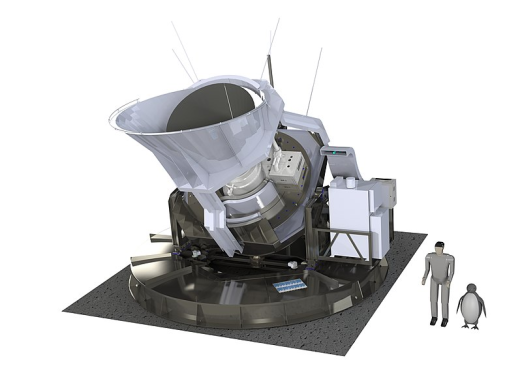 Rendering of the Simons Observatory Small Aperture Telescope.